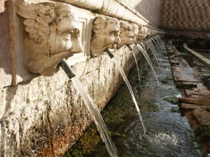 Il pastore e la fontana