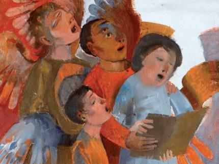Bambini in terra e angeli in cielo